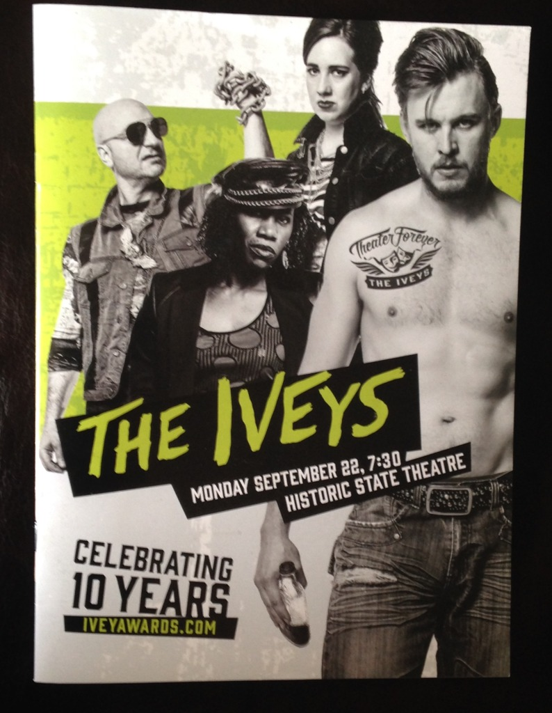 Iveys program cover